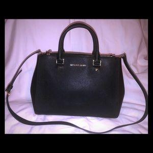 Michael Kors Black Purse Handbag Crossbody